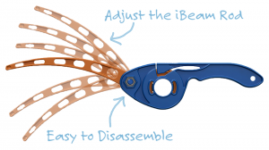 castakite-kite-handle-front-blue